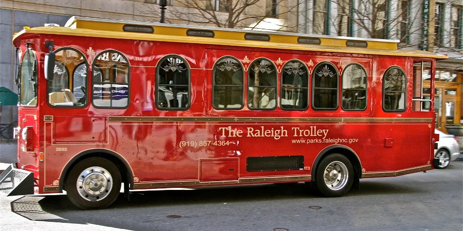 Raleigh Trolley in North Carolina